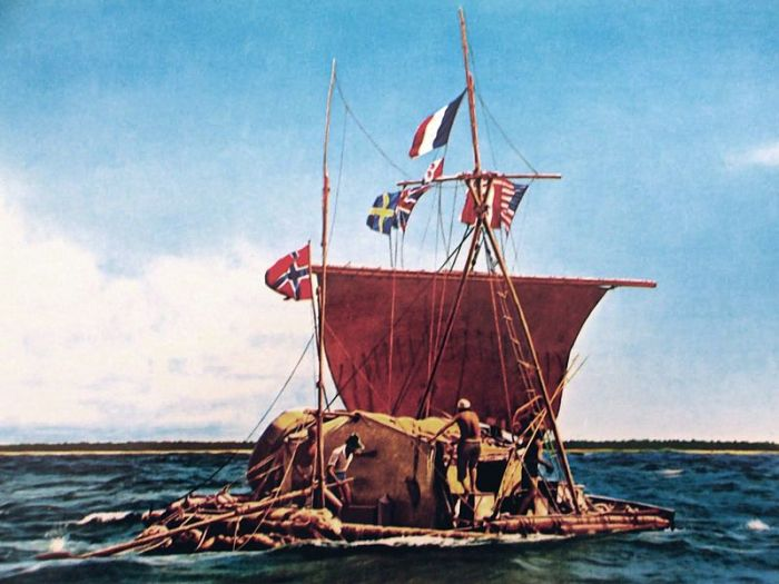 Kon-Tiki Balsa Raft Expedition 1947