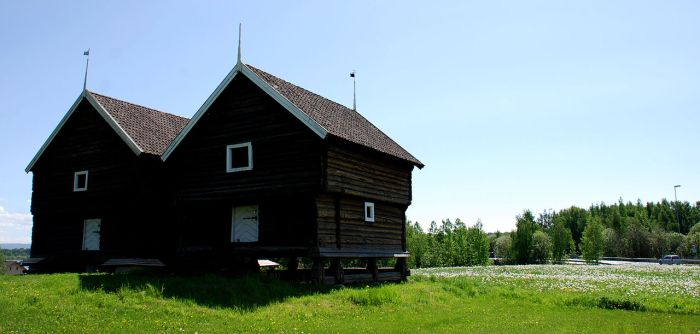Storhouses Aker Farm Hamar Norway