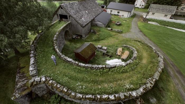 Barn in Valldal Norway