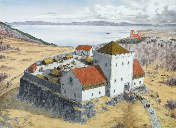 King Sverre's Castle Sverresborg