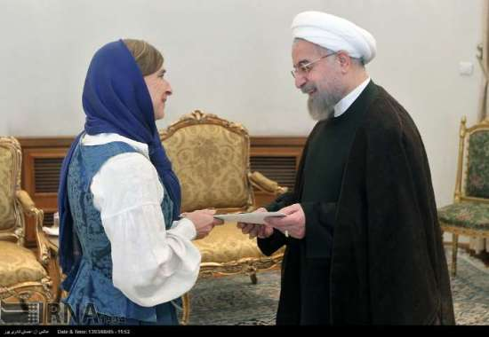 Norway's Ambassador to Iran