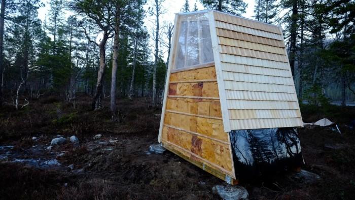 Privy Outdoor Toilet Norway