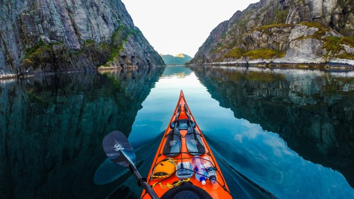 Trollfjord Kayaking Northern Norway