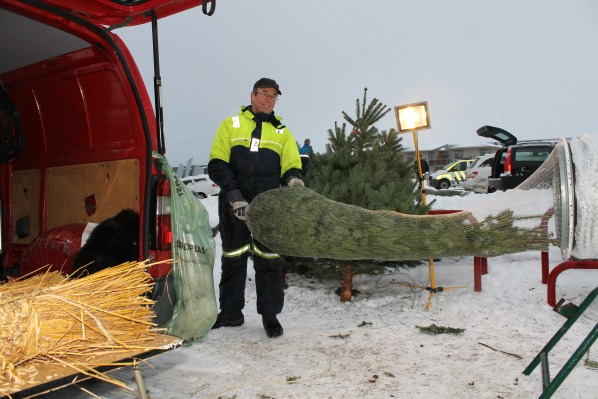 Christmas Tree Seller Norway 2