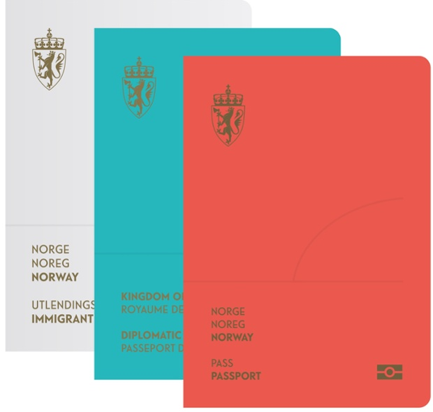 New Norwegian Passports by Neue front