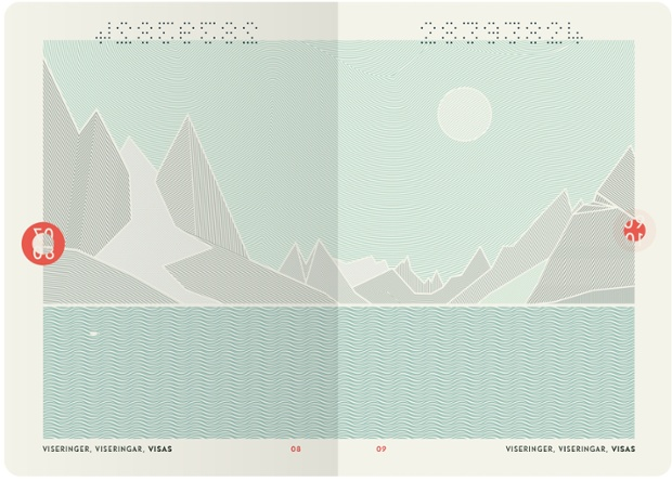 New Norwegian Passports by Neue