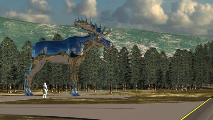 World's Biggest Moose of Metal Norway