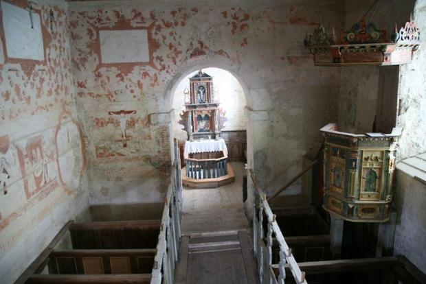 Norway's Oldest Church 995 AD Interior