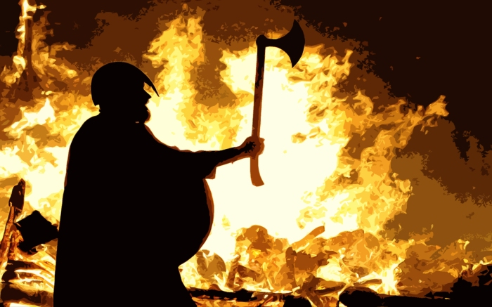 Viking Arsonists