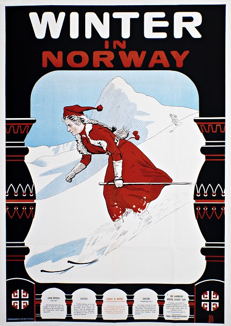 Winter in Norway Poster 1907