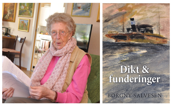 90-year old book debutant Norway