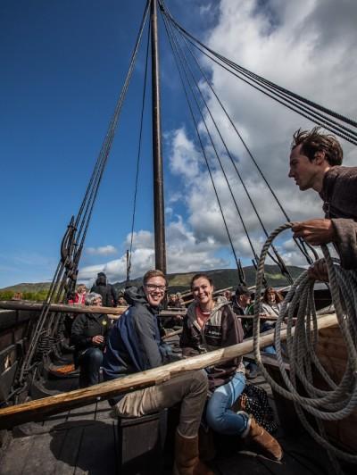 Viking Ship Lofotr Viking Museum Norway