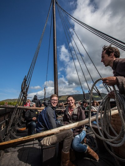 Viking Ship Lofotr Viking Museum Norway