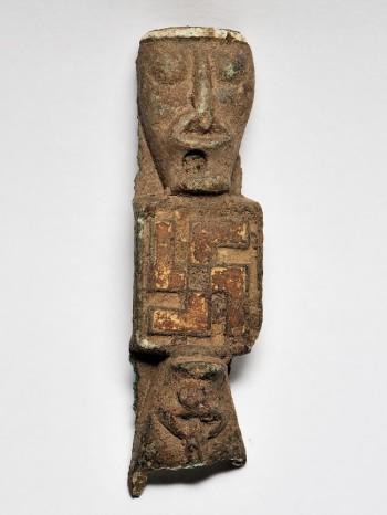 Viking Age Artifact With Swastika 2