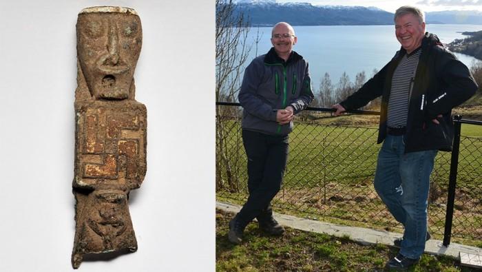 Viking Age Artifact With Swastika