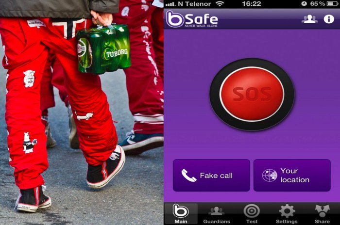 bSafe App to prevent rape