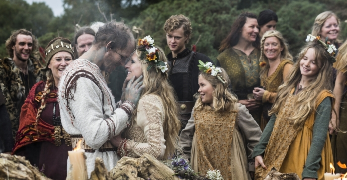 Viking Wedding Middle Ages