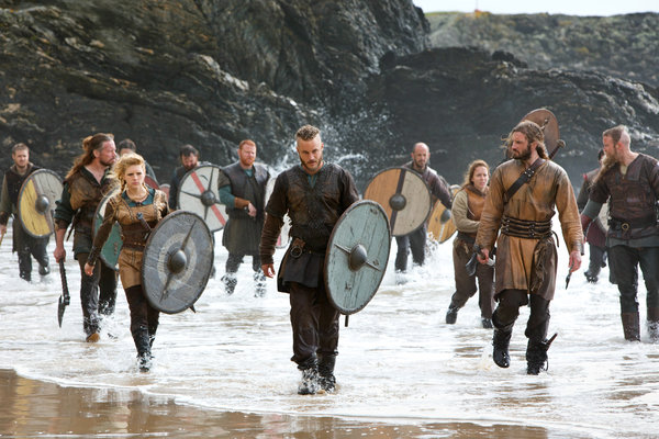 Vikings Invading Normandy