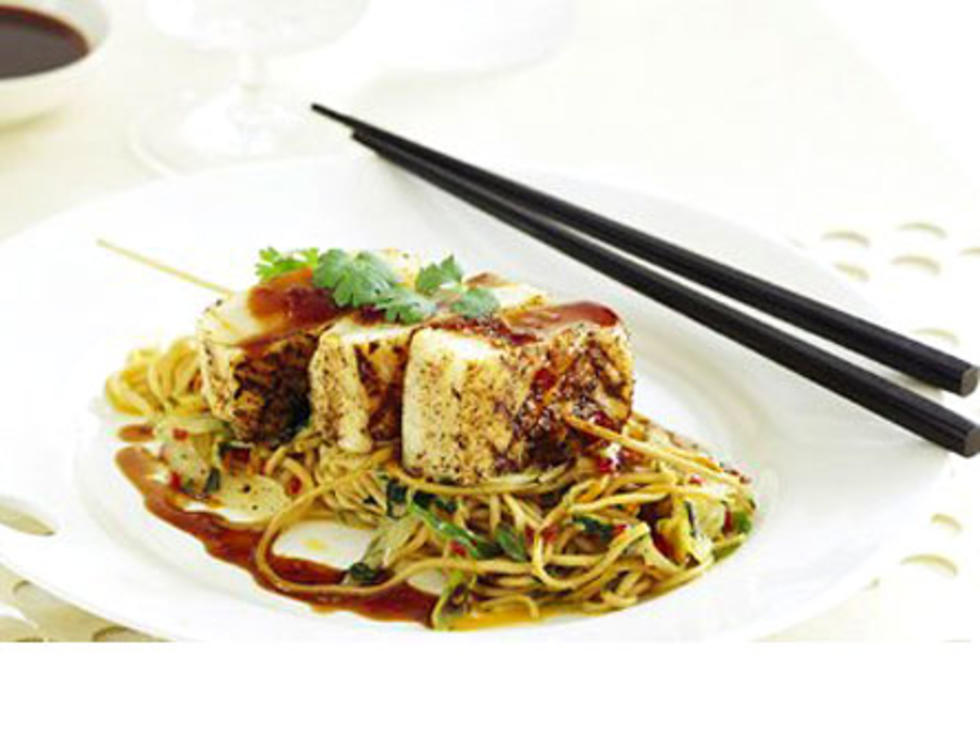 Asian halibut recipe