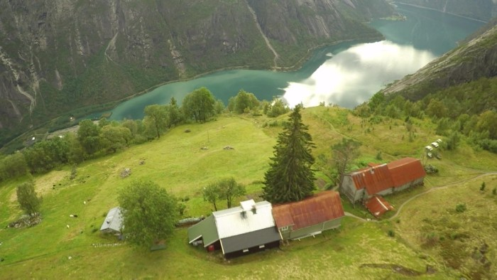 Kjeåsen - A farm with a view