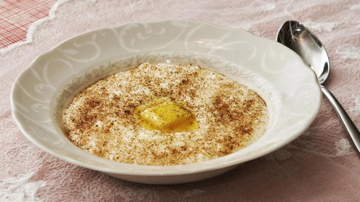 Risengrynsgrøt - traditional rice porridge