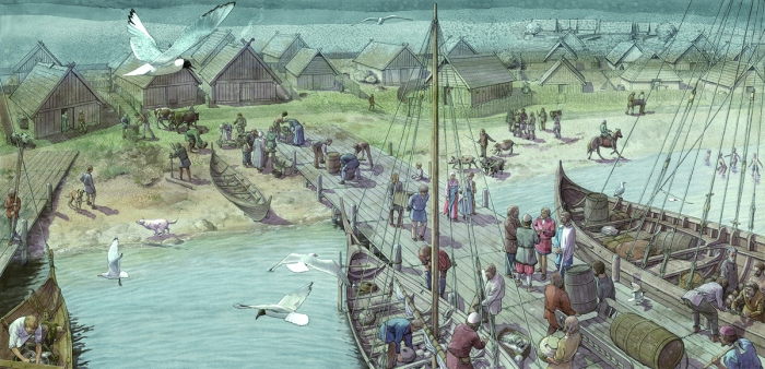 Why Did The Viking Trading Town Of Kaupang Totally Disappear - Norway map vikings