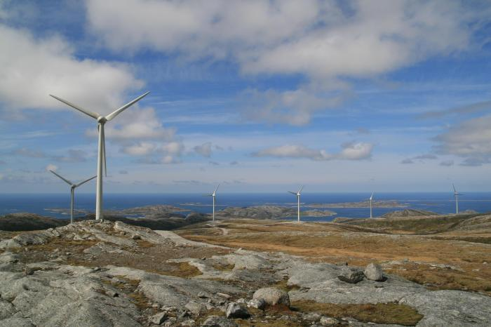 Wind Power Central Norway