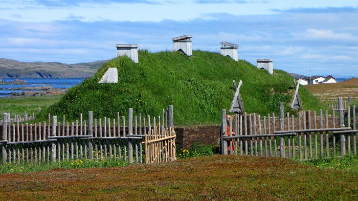 Viking Long House New Foundand