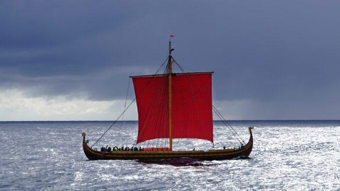 Dragon Harald Fairhair Viking Ship