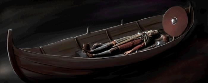 Boat Grave Viking Age Man