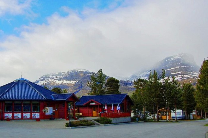 Olderelv Camping Nortern Norway