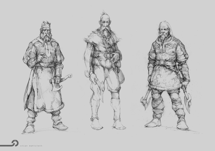 Vikingos Ax Men