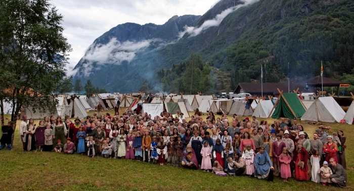 Njardar Viking Association - Members and Visitors