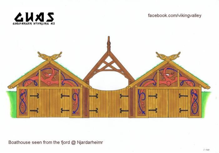 Njardarheimr Viking Village - Bouthouse