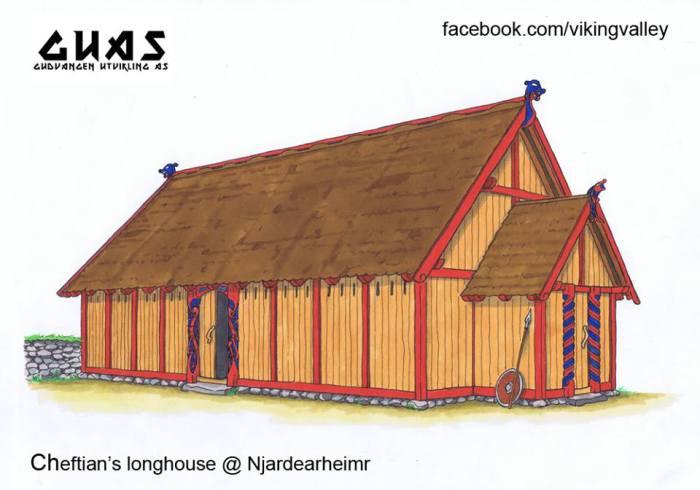 Njardarheimr Viking Village - Chieftain's Longhouse