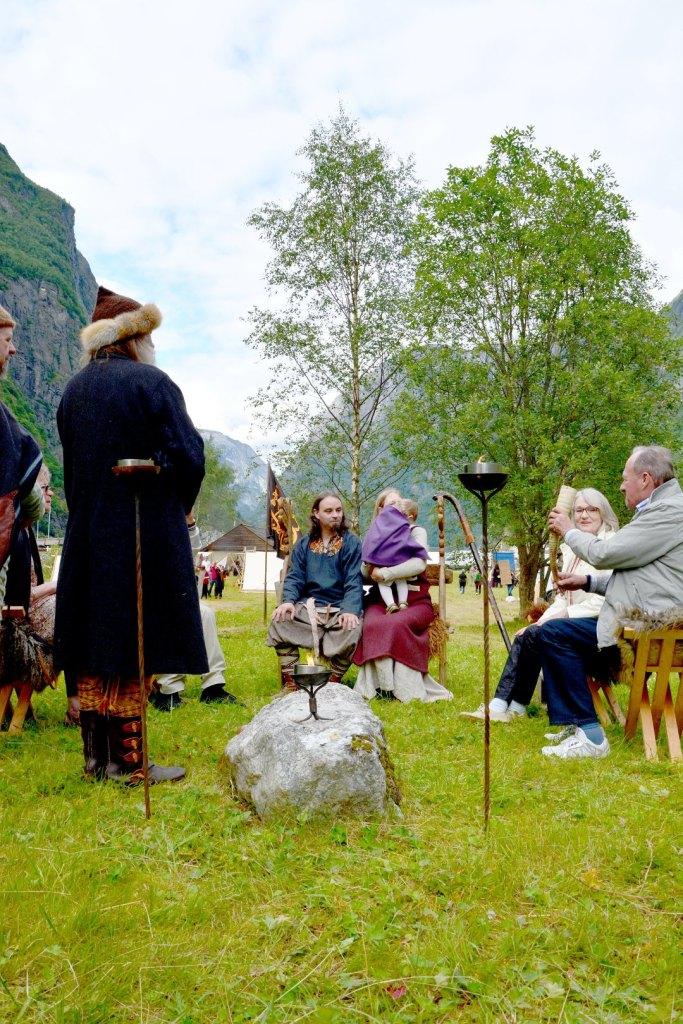 Viking Naming Ceremony Gudvangen 2