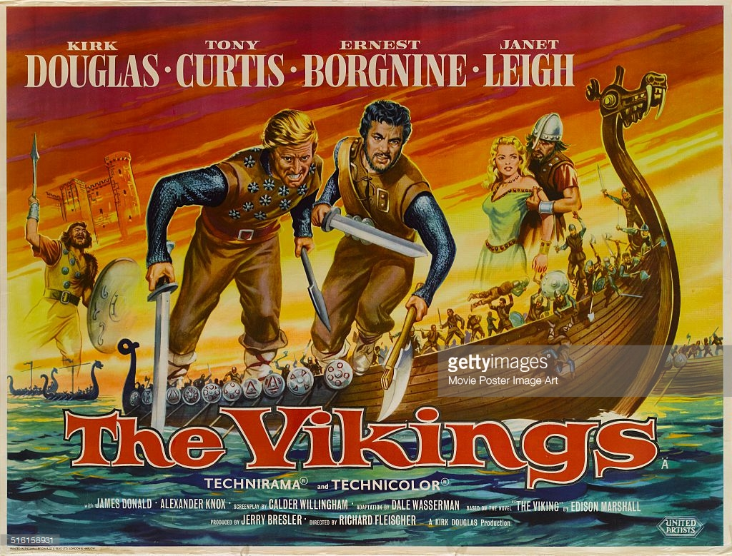Image result for the vikings 1958