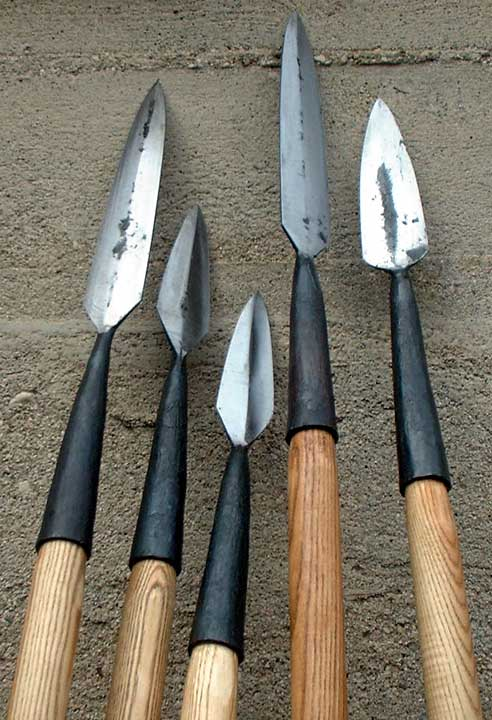 """The Viking Age Spears – """"The Ones Who Stare from a Long"""