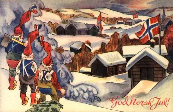 Norwegian Christmas.Get Into The Spirit Of Christmas With Old Norwegian