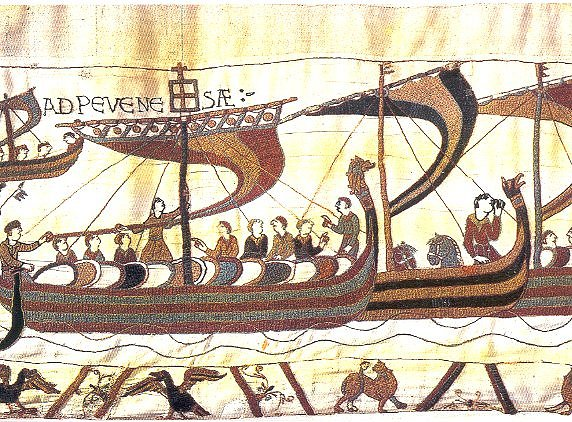 Bayeux Tapestry Vikings