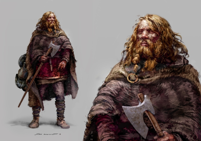Viking Cheiftain Rollo Normandy
